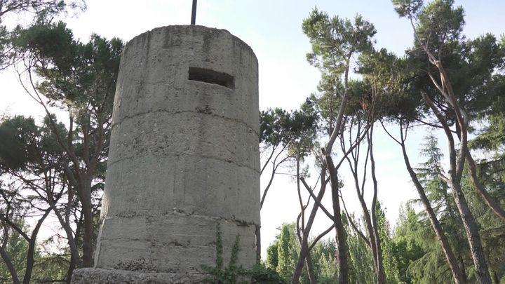 Tres búnkers de la Guerra Civil en el Parque del Oeste, la huella de la Guerra Civil en Madrid