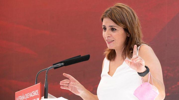 """Lastra dice que Casado es """"el vacío, la nada"""" y que la democracia """"le importa bien poco"""""""