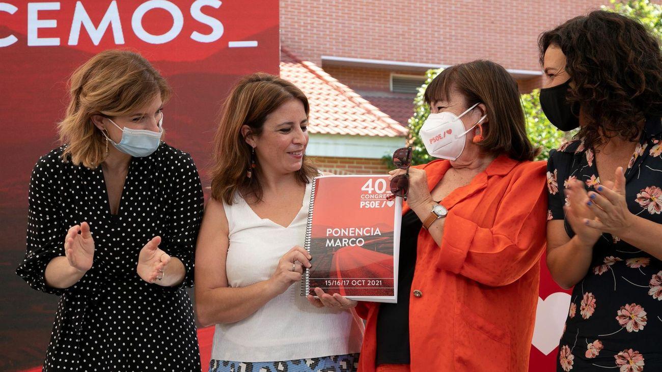 Presentación de la Ponencia Marco del 40 Congreso del PSOE