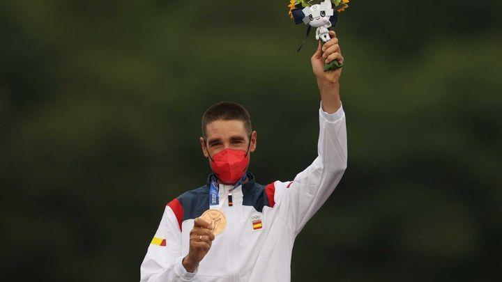 David Valero, medalla de bronce en ciclismo de montaña