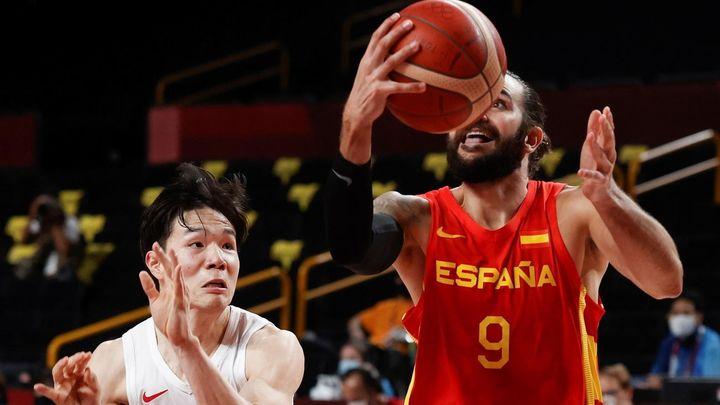 77-88. España se estrena ante Japón al son de Ricky Rubio