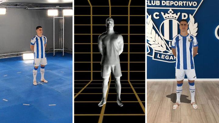El Leganés, primer equipo en presentar su equipación en 3D