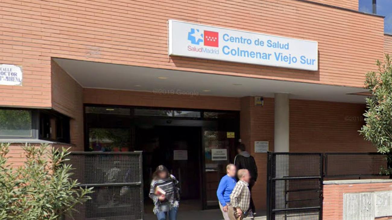 Uno de los dos centros de salud de Colmenar Viejo