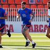 Del Paul ya se entrena con sus nuevos compañeros del Atlético
