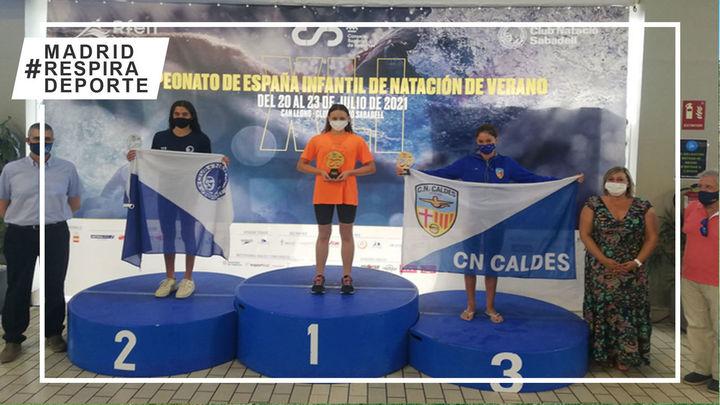 Gredos San Diego, campeón de España femenino infantil de natación