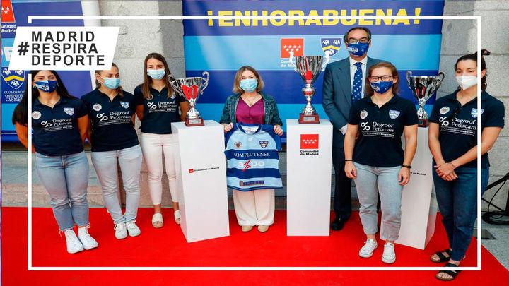 Madrid homenajea al Rugby Complutense Cisneros
