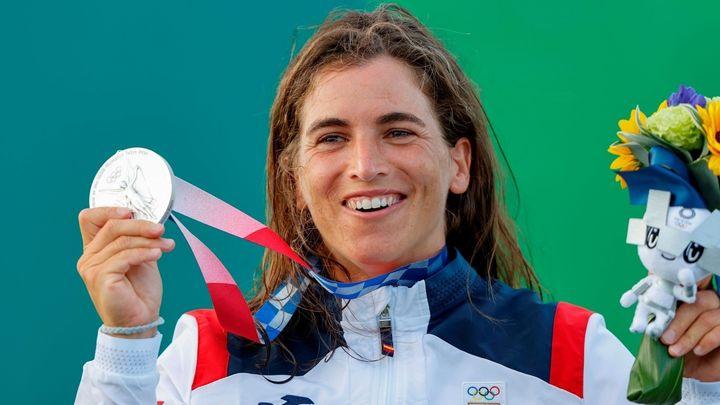 Maialen Chourraut, medalla de plata en piragüismo eslalon