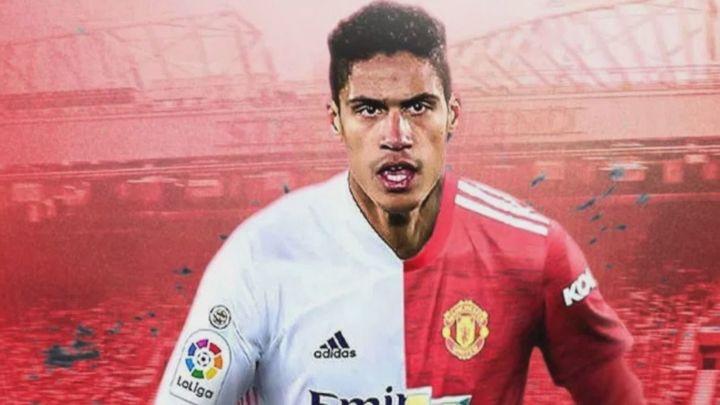 El Real Madrid anuncia el traspaso de Varane al Manchester United