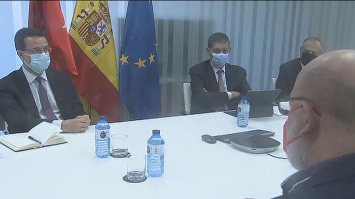 La Comunidad de Madrid y UGT abordan la política fiscal, ayudas a pymes y gestión de fondos europeos