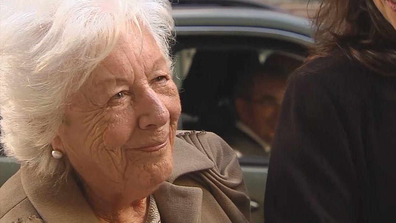 Fallece a los 93 años, Menchu Álvarez, la abuela de la reina Letizia