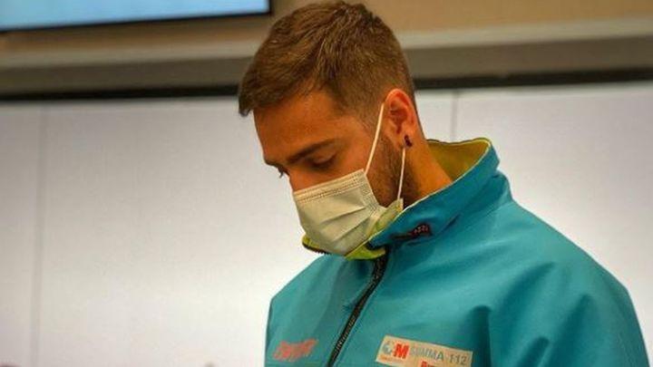 """Jorge, el enfermero del Wanda, del humor a la decepción: """"El 80% de los test son positivos"""""""