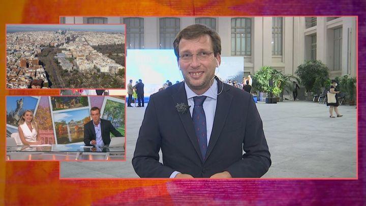 """Almeida, tras el acto de celebración por el nombramiento de la UNESCO: """"Queríamos agradecérselo a los madrileños"""""""