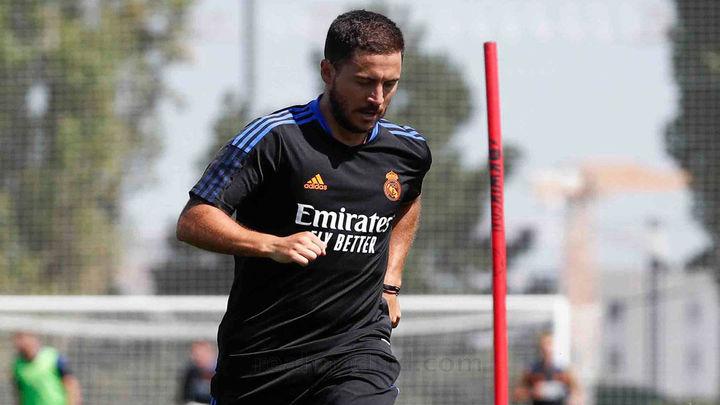 Hazard, Valverde y Courtois se reincorporan a la pretemporada del Real Madrid