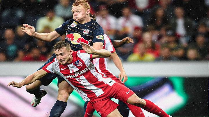 1-0. El Atlético de Madrid  tropieza ante el Salzburgo