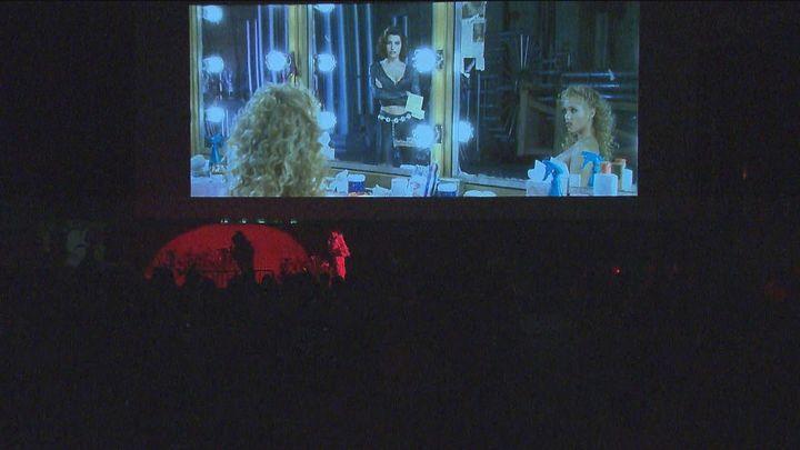 Cine 'interruptus' en el cine de verano del Parque de la Bombilla