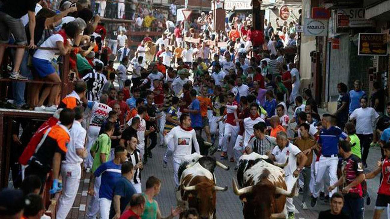 Desarrollo de un encierro en San Sebastián de los Reyes