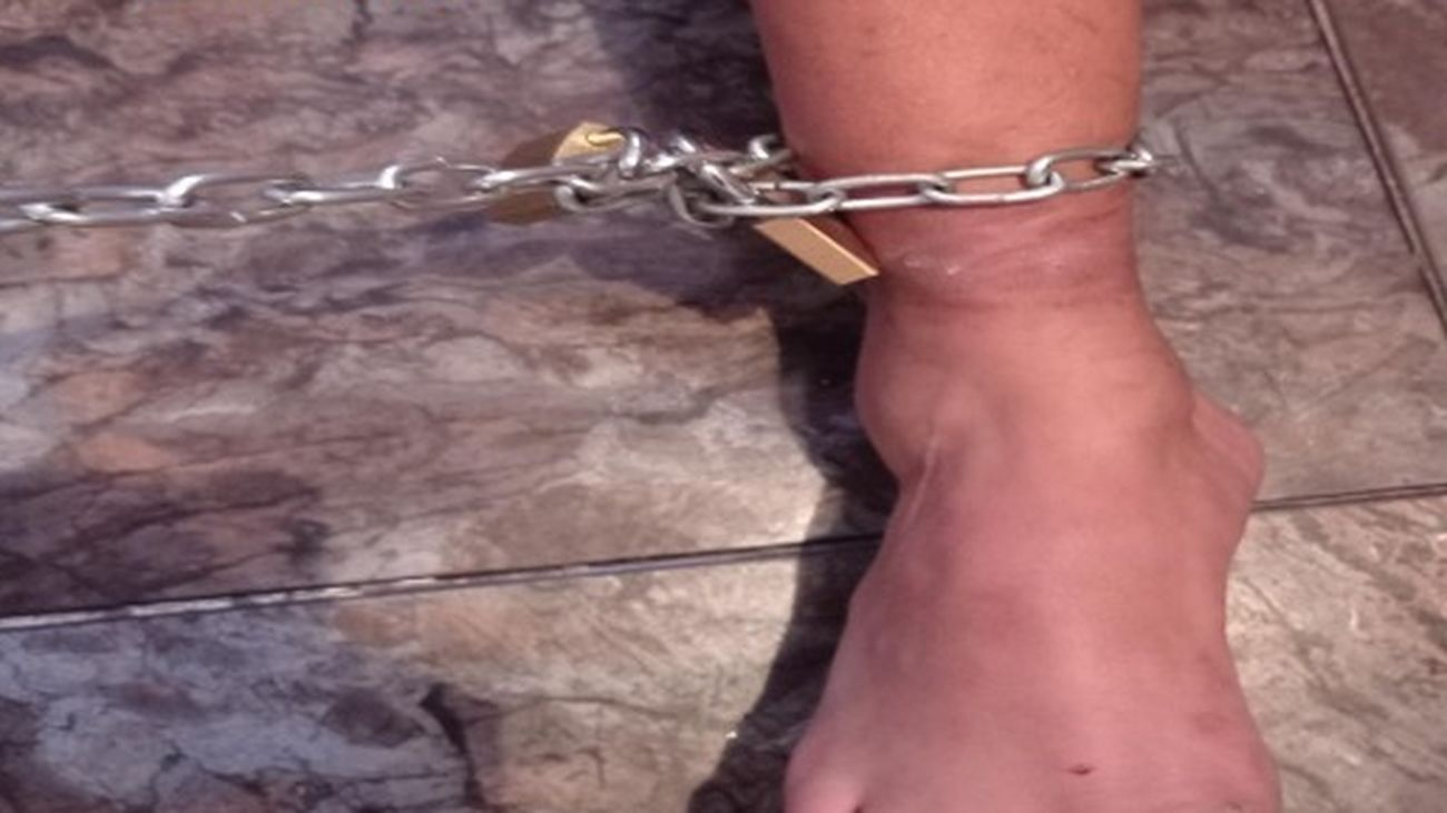 Encadenado en Torrejón de Ardoz