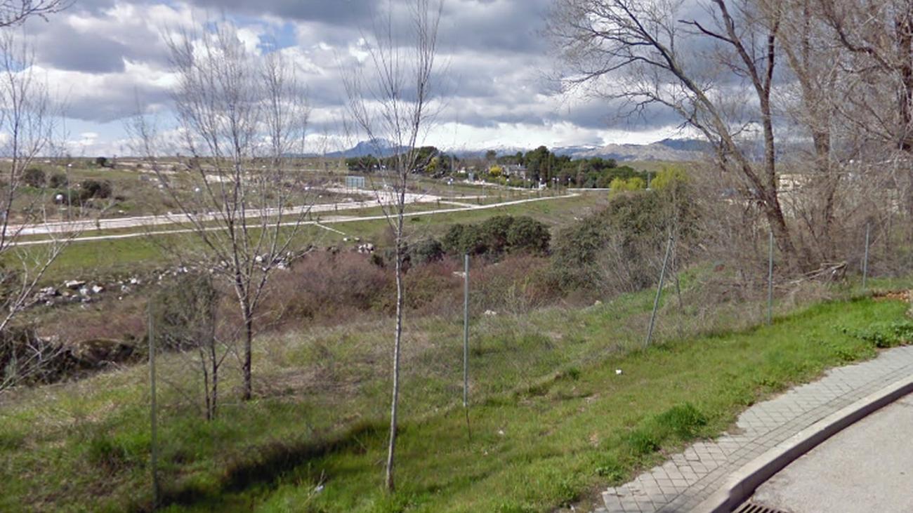 Entorno del barrio de la Estación en Colmenar Viejo donde se construirá la pasarela