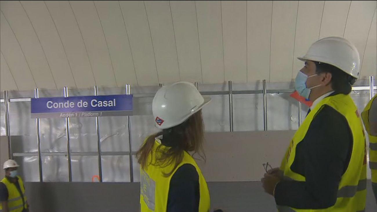 Metro reabre el 1 de agosto el tramo entre Sainz de Baranda y Pacífico de la Línea 6