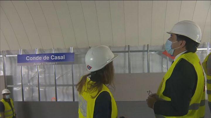 Metro de Madrid reabre el 1 de agosto el tramo entre Sainz de Baranda y Pacífico de la Línea 6
