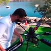 Así funcionan los drones 'repartidores' en el Pantano de San Juan