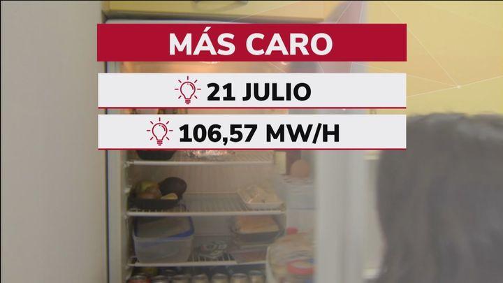 Julio será el mes con la luz más cara de la historia hasta ahora