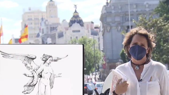 Madrid en trazos, una mirada tranquila a los edificios de la capital