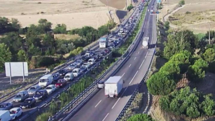 Tráfico prevé 4,7 millones de  desplazamientos en el primer fin de semana de agosto