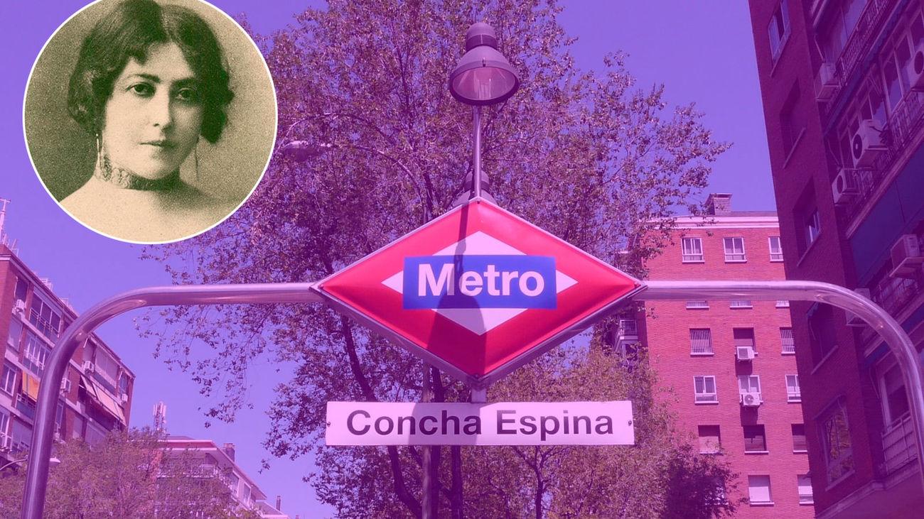 Paradas de metro con nombre de mujer