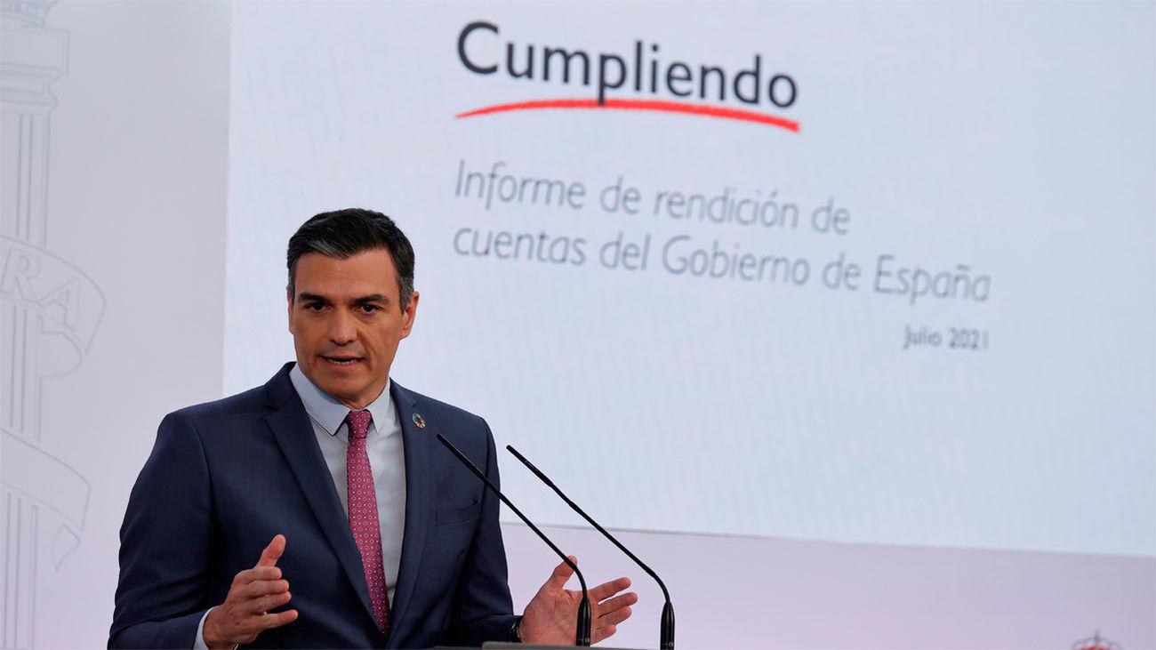 """Un Sánchez triunfalista subraya el éxito de su gestión ante la """"oposición destructiva"""" del PP"""