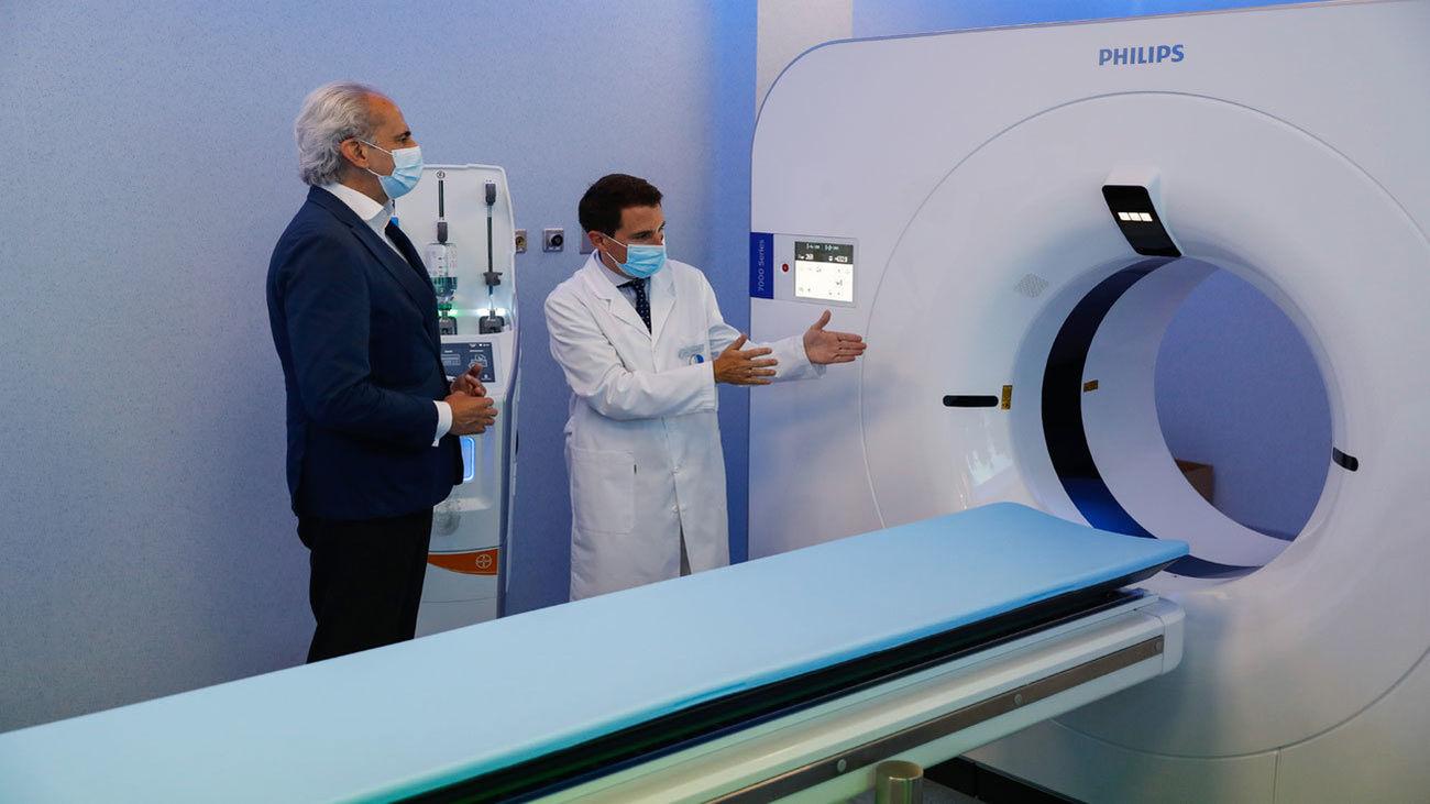 La Comunidad incorporará 9 TAC espectrales a los hospitales públicos de Madrid