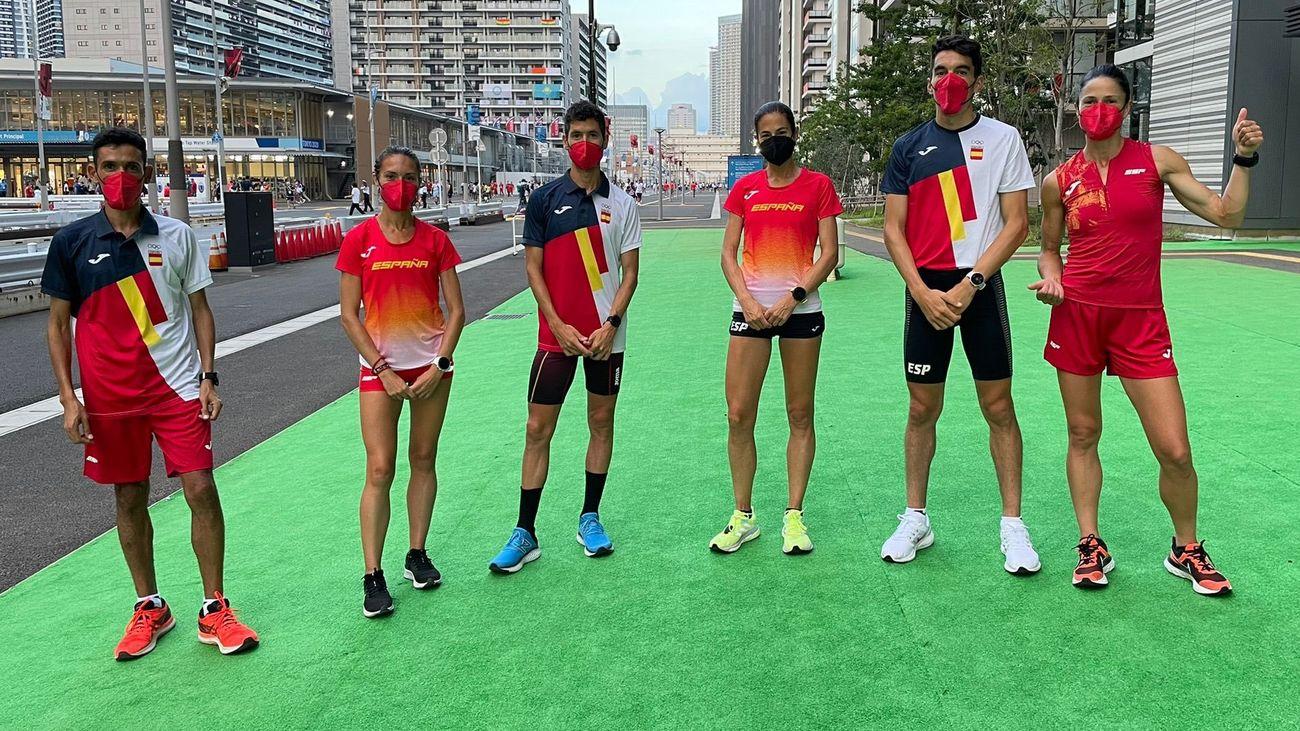 Atletas españoles en Tokio