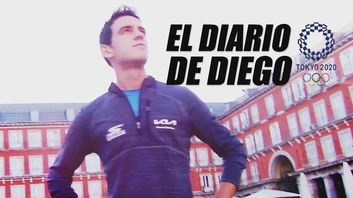 Diario Diego ya está en Tokio