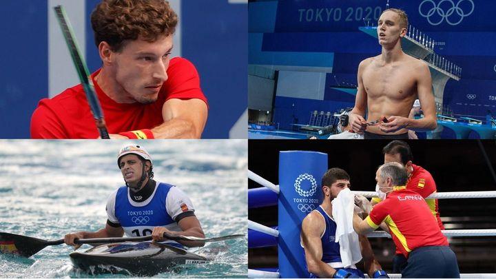 Sin opciones de medalla para para Nico García, Llorente y Jalidov; Carreño, sin final