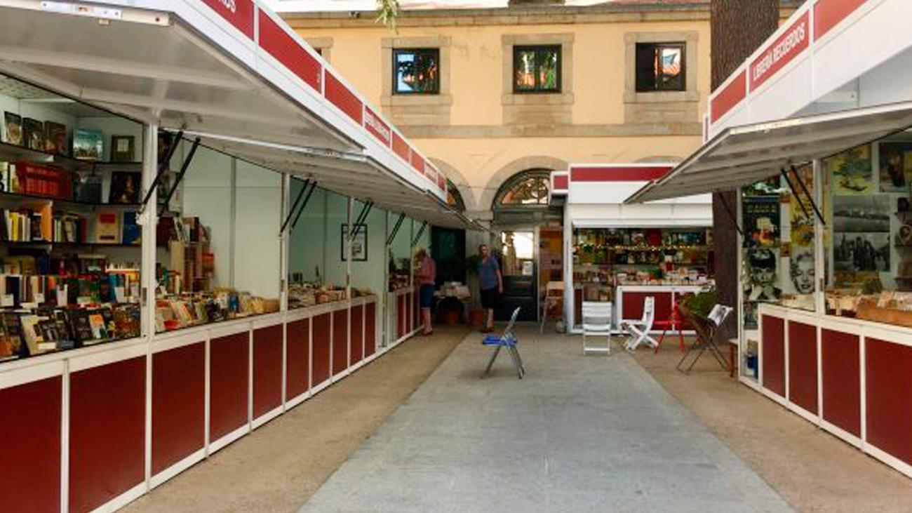 Feria del libro antiguo de San Lorenzo de El Escorial