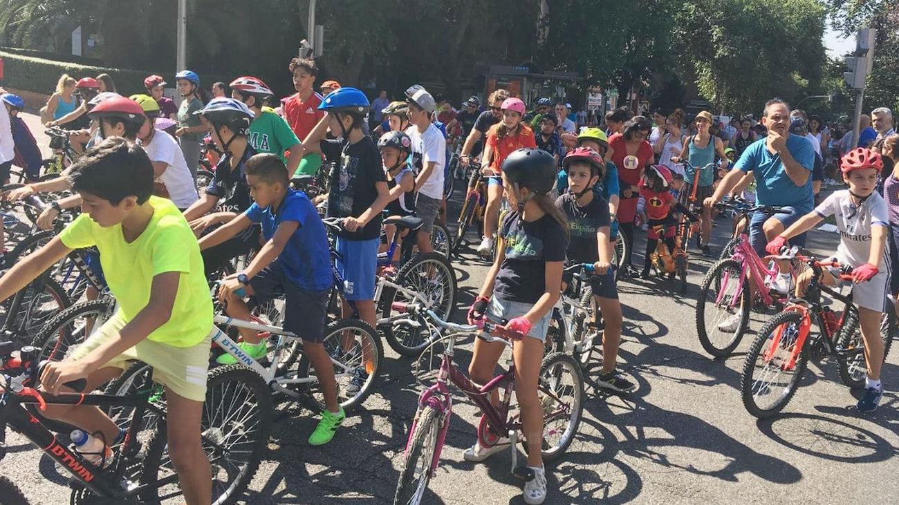 Fiesta de la Bicicleta en La Elipa, Ciudad Lineal