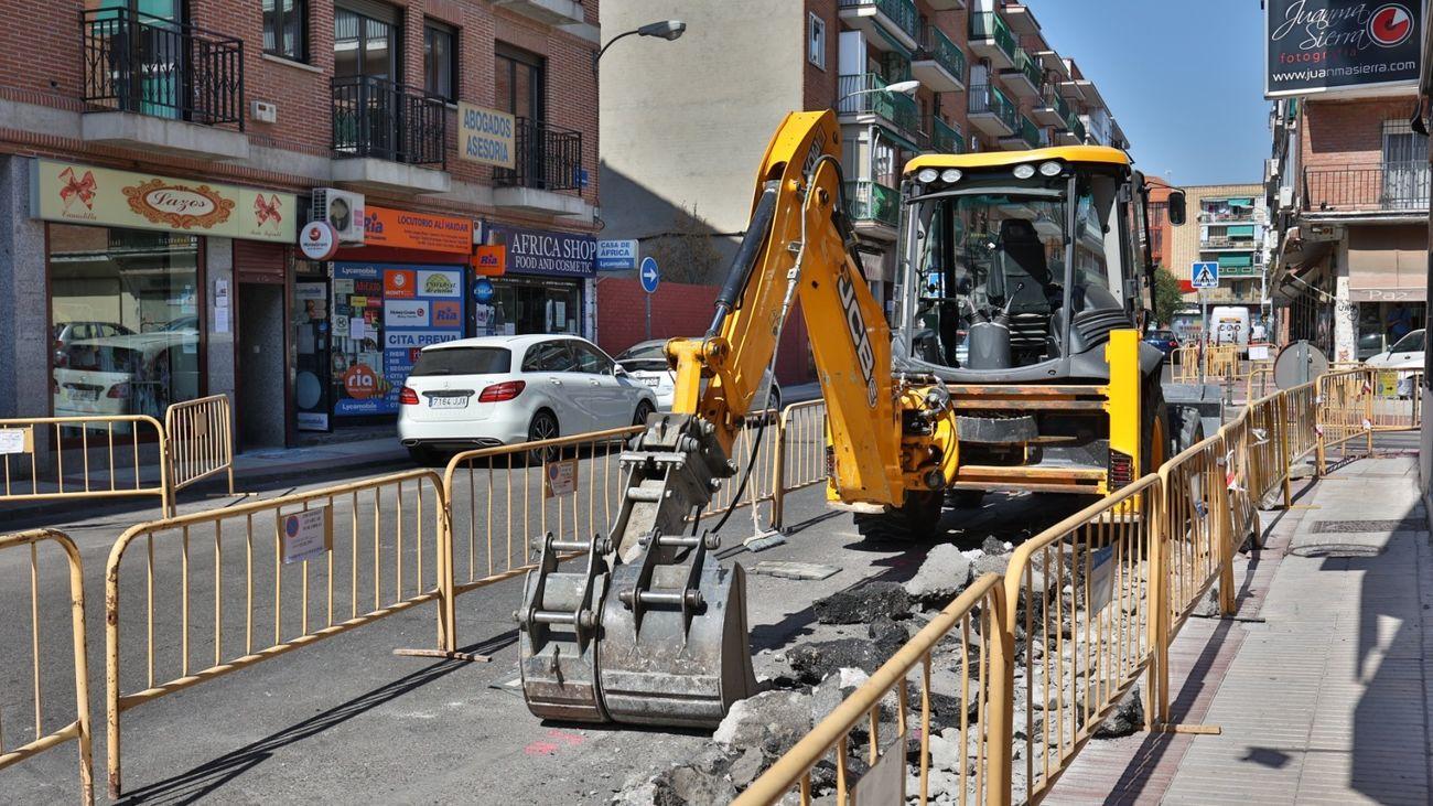 Fuenlabrada aborda nuevas obras de remodelación del proyecto Distrito Centro