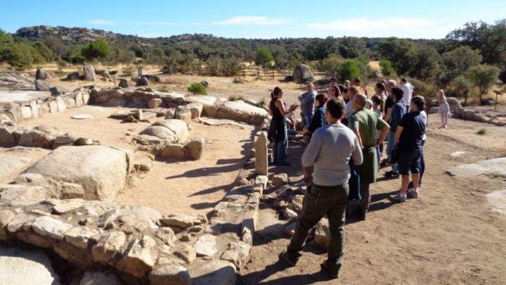 Hoyo busca reavivar el turismo con su yacimiento arqueológico del siglo VII