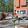 Desalojado un edificio de viviendas en Rivas al incendiarse dos coches
