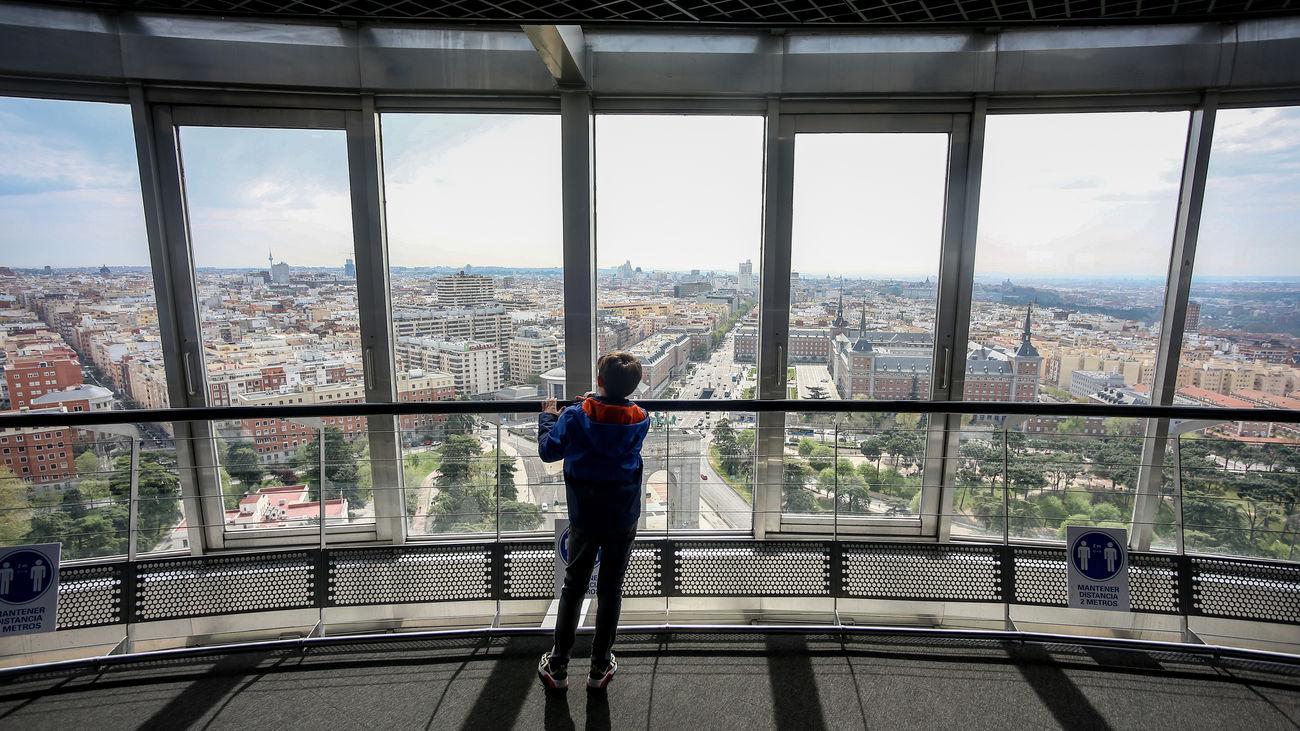 Un paseo virtual desde las alturas de Madrid