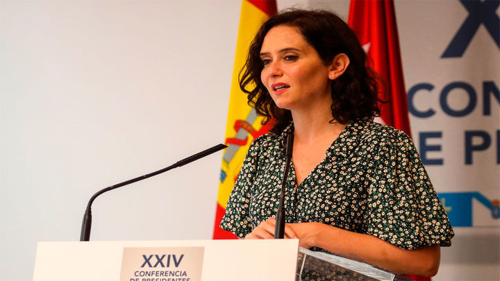 """Díaz Ayuso critica la """"armonización"""" fiscal que """"consiste en subirle los impuestos a Madrid"""""""