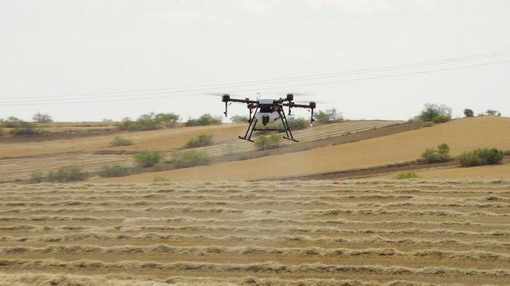 Conocemos la función del dron fumigador