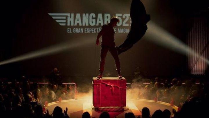 Vuelve a Ifema el espectáculo del mago Yunke 'Hangar 52 Revolution'