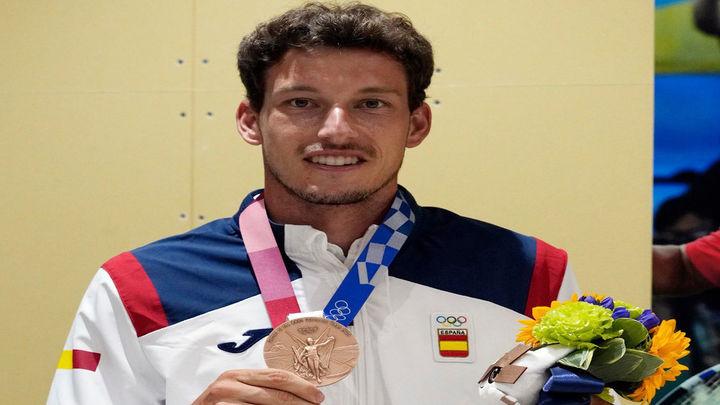 Carreño se hace con el bronce olímpico tras derrotar a Djokovic