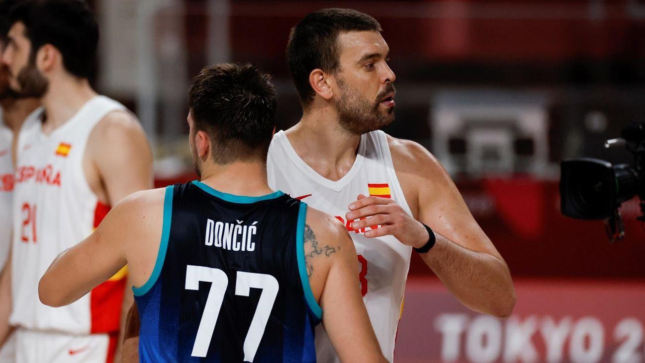 87-95. España cae con Eslovenia y jugará los cuartos contra EEUU