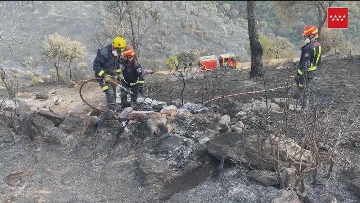 Controlado el incendio en el pantano de San Juan tras quemar 50 hectáreas