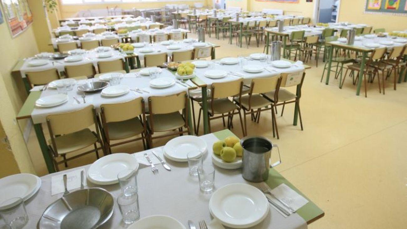 Comedor de un colegio de Algete