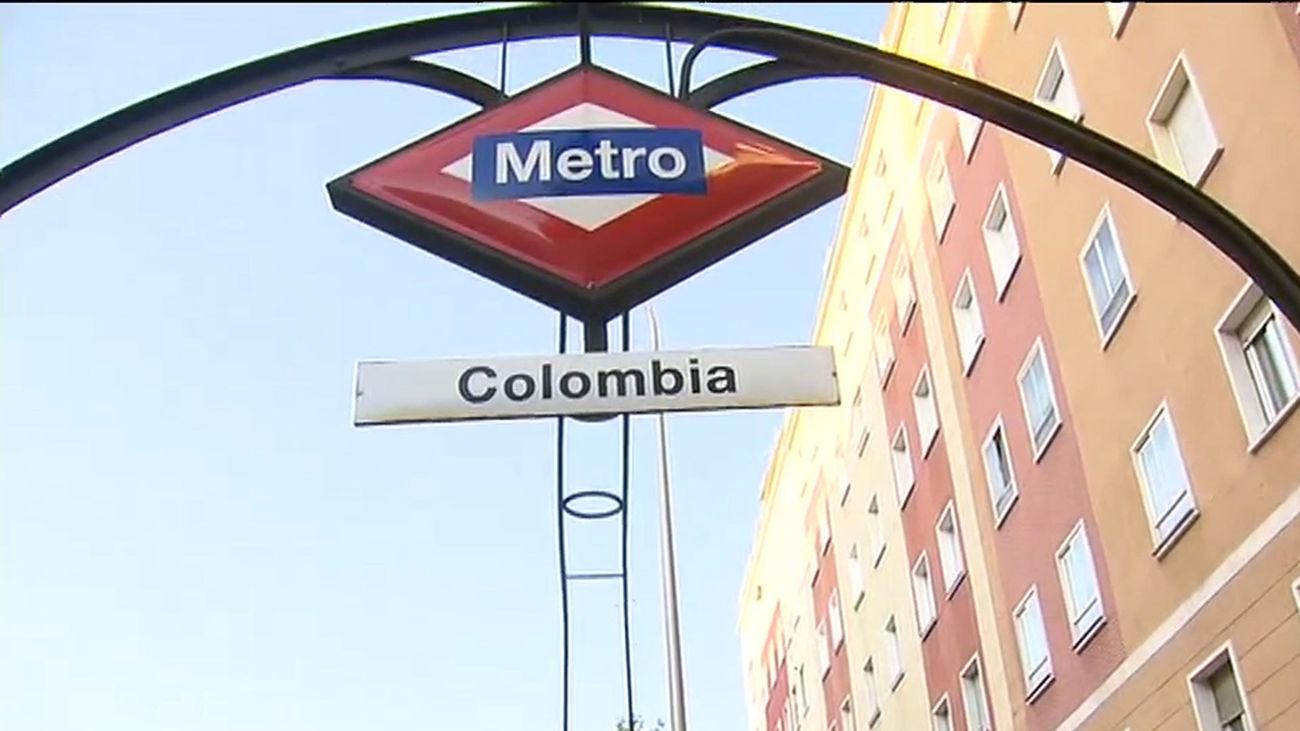 Reabre  este miércoles el tramo de la L9 de Metro entre Plaza de Castilla y Colombia