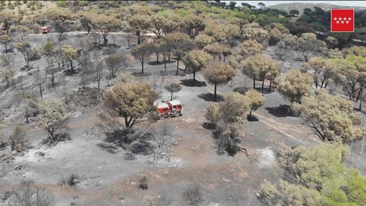 Extinguido el incendio del Pantano de San Juan