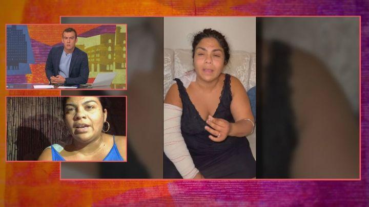 Saray Montoya, de 'Gipsy King', denuncia ser apuñalada por dos familiares